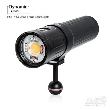 Illuminatore Subacqueo SUPE P53 - LAMPADA 5000 LUMEN CRI 96 (VIDEO-FOCUS-FLASH)