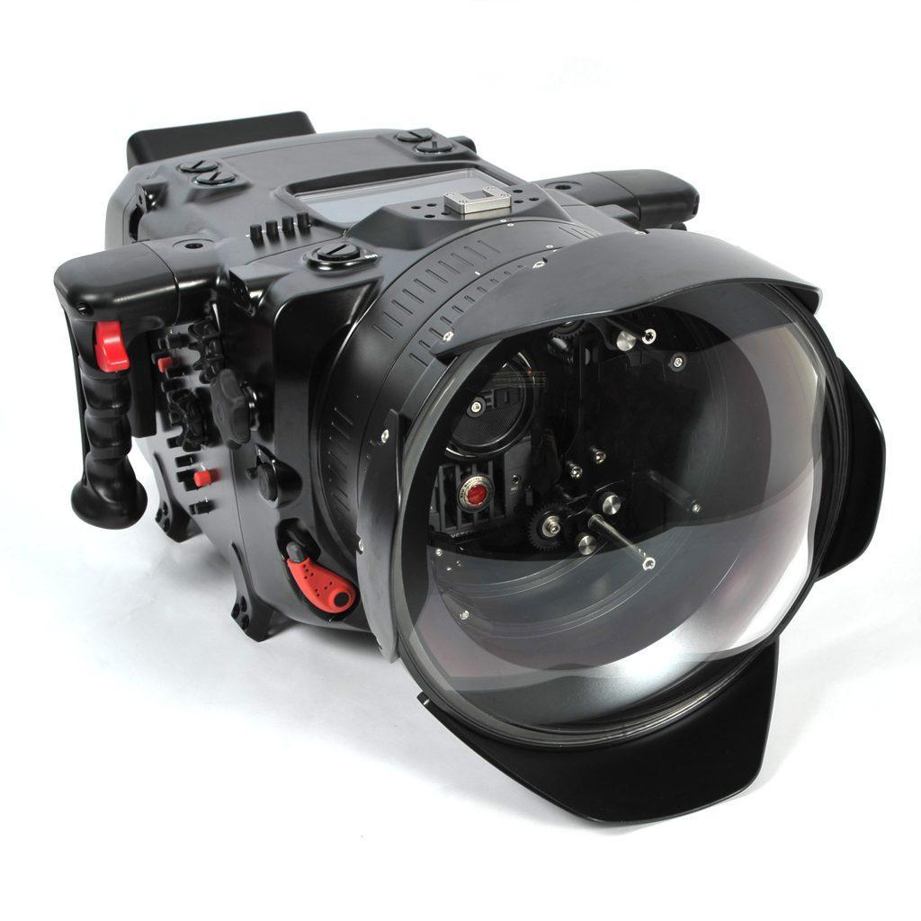 Digital Cinema System for Red DSMC2 (N200 Port for PL Lenses,  includes N200 250mm optical glass wide angle port, N200 extension rings 30, 40 and 50, and lens control drive shafts)